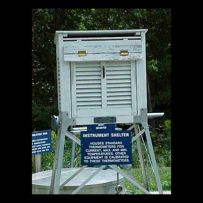 weather instrument shelter